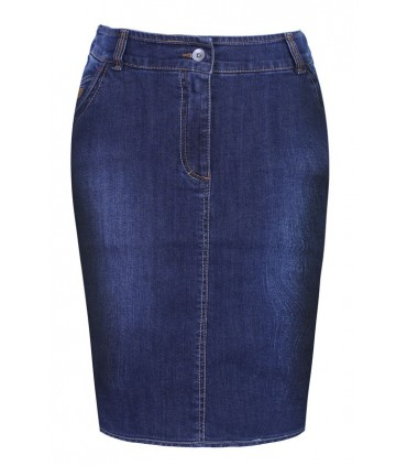 Prosta spódnica jeansowa - EVA