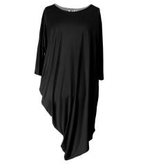 CZARNA tunika / sukienka PAULINA 2