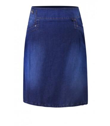 Rozkloszowana spódnica z jeansu MARLENE