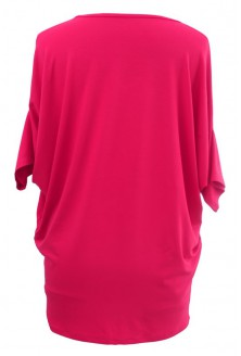 Dzianinowa różowa bluzka - DAISY