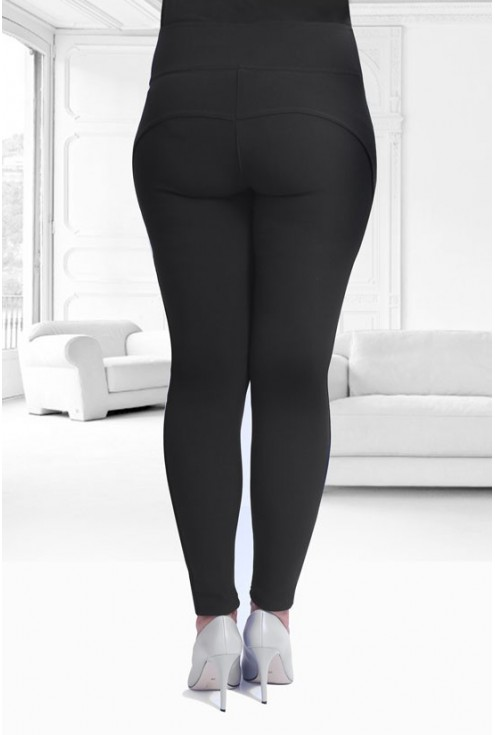 CZARNE legginsy PUSH-UP -  NOREEN 2