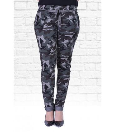 Spodnie dresowe z kieszeniami MORO