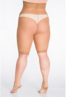Beżowe majtki elastilowe SIZE + 30 den