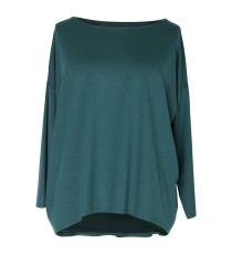 Zielona bluzka MARINA BASIC długi rękaw