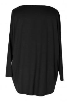 Czarna bluzka MARINA BASIC długi rękaw