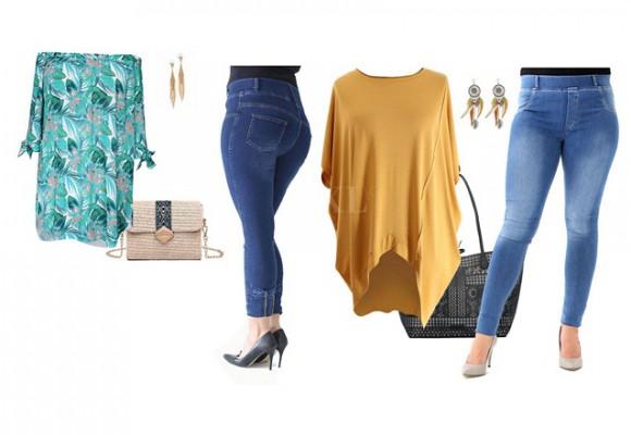 Spodnie jeansowe plus size w sklepie XL-ka
