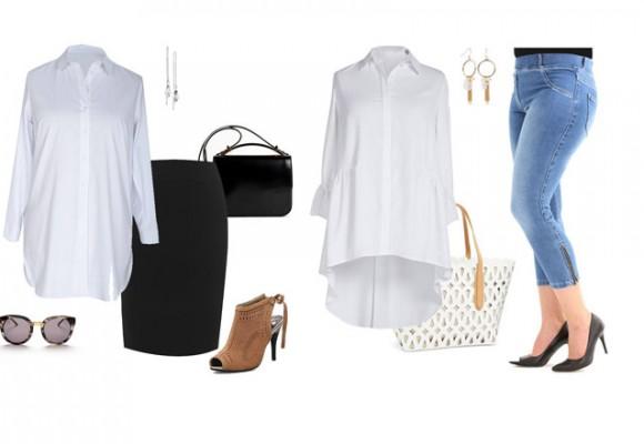 NOWA KOLEKCJA: koszule damskie do pracy - duże rozmiary, modne fasony plus size