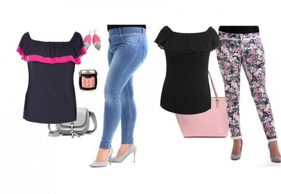 Spodnie dla wysokich kobiet - duże rozmiary w sklepie XL-ka