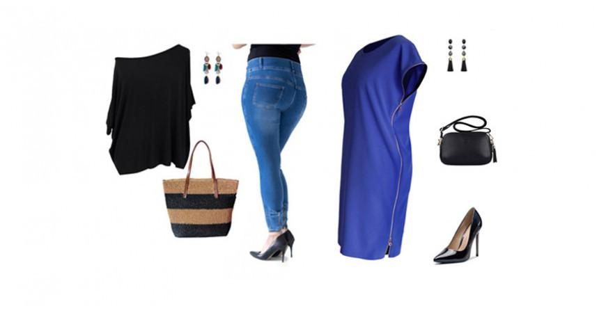 Ubrania dla niskich kobiet w rozmiarze XL