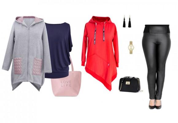Bluzy damskie w dużych rozmiarach - co nosić gdy na dworze chłodno