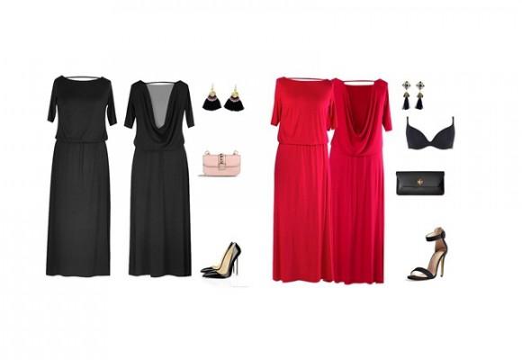 Letnia sukienka maxi w dużych rozmiarach – sklep XL-ka