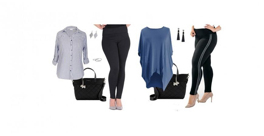 Nowa jesienna kolekcja legginsów plus size