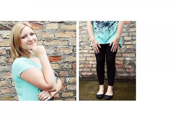 Koszulka w rozmiarze XL na blogu Anecii