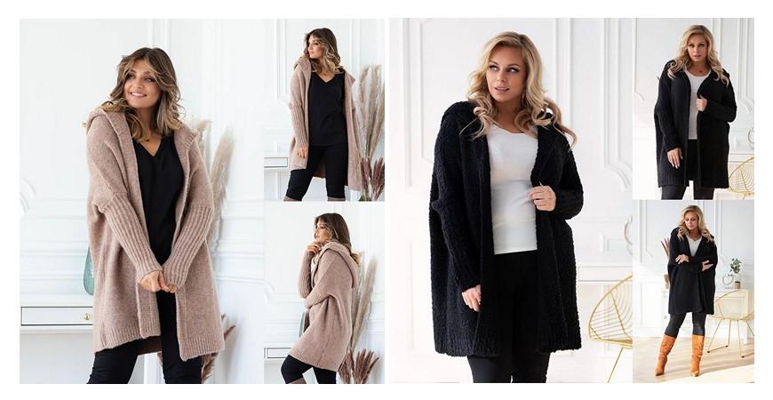 Kardigan plus size - sposób na modną jesień i zimę