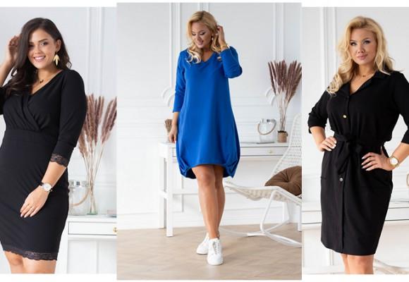 Przegląd sukienek na co dzień w sezonie jesień, zima 2020
