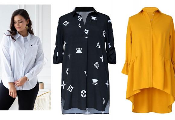 Damskie koszule biznesowe plus size - jak dobrać do sylwetki