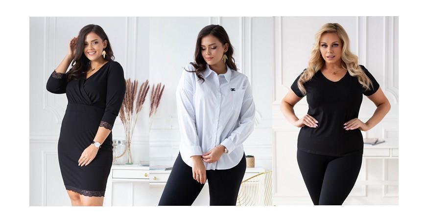 Basicowe ubrania, czyli must have kobiety plus size