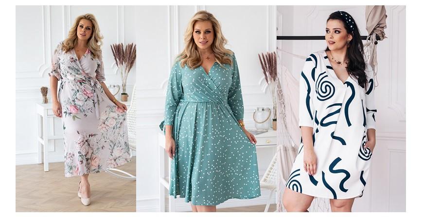 Sukienki na komunię dla mamy - piękne i w dużych rozmiarach