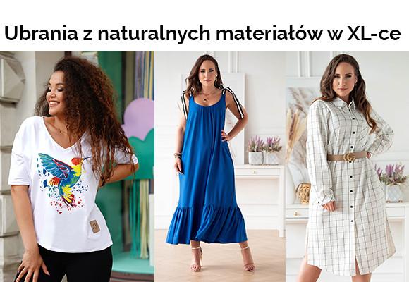 Ubrania z naturalnych materiałów - nowy trend, który zostanie z nami na dłużej