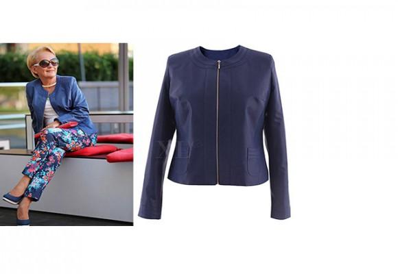 Odważna moda 50+ - stylizacje XL-ki na blogu Pani Krystyny Bałakier