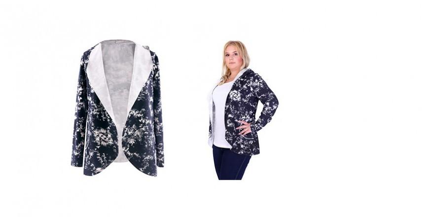 XL-ka na co dzień - wygodna bluza w dużych rozmiarach