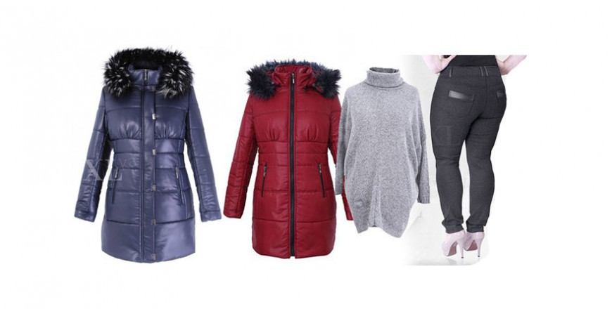 Zgrabne pikowane płaszcze w większych rozmiarach