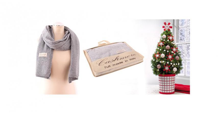 Moc świątecznych prezentów - szale i rękawiczki