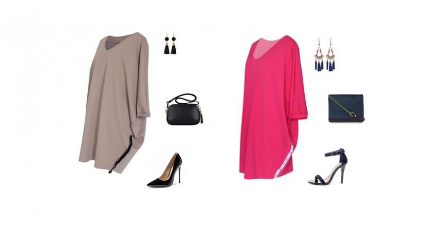 Dzianinowe sukienki oversize - nowość w XL-ka