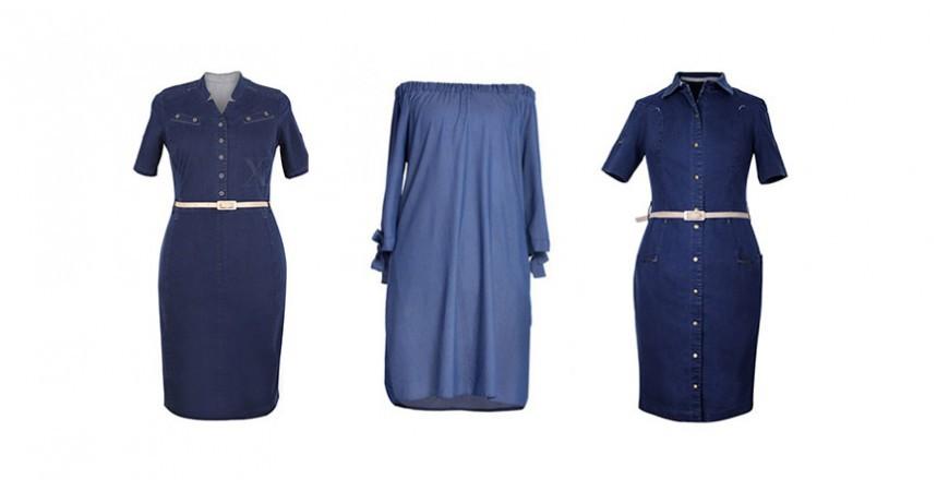 Kasia z bloga Fajnainiechuda w sukience XL-ki