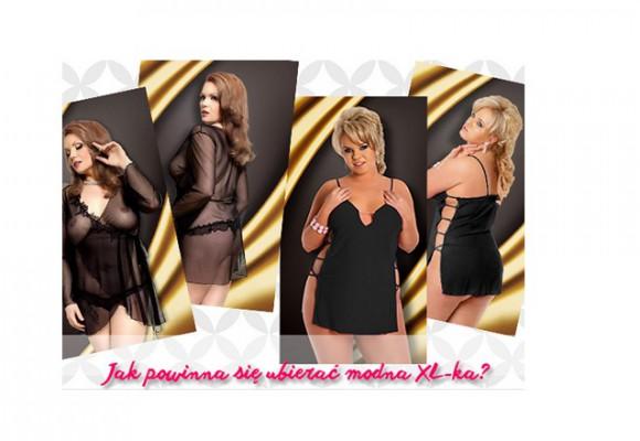 Konkurs - jak powinna ubierać się modna XL-ka?