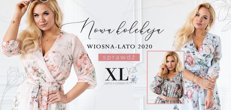 sukienki plus size kolekcja wiosna 2020