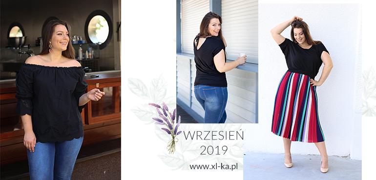 Kolekcja plus size na wrzesień sklep XL-ka.pl.