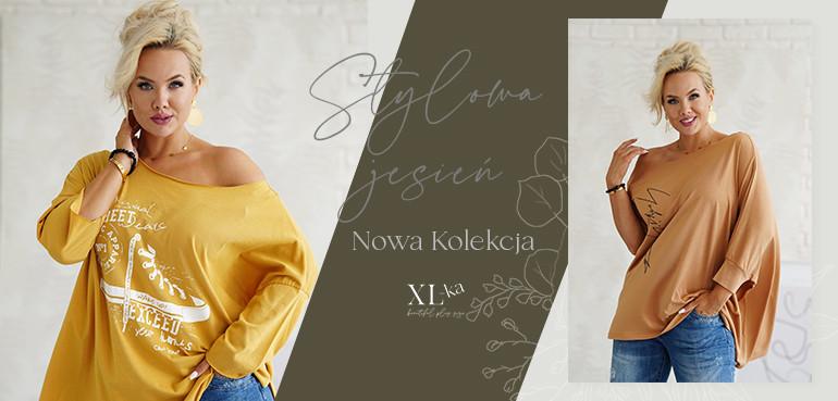 jesienna kolekcja odzieży plus size w sklepie internetowym xl-ka