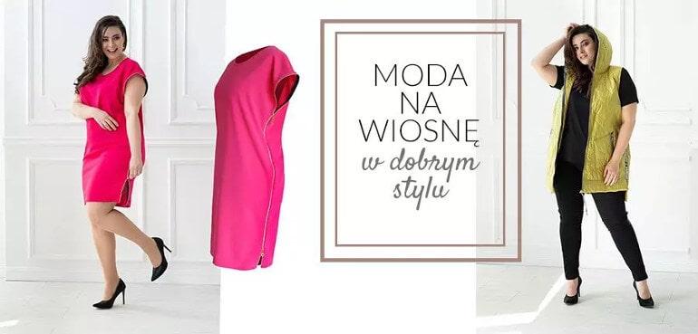 moda plus size na wiosne w dobrym stylu