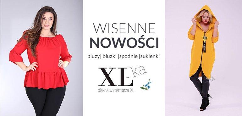 wiosenne nowości sklep online xl-ka.pl